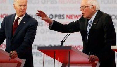 نگرانی برنی سندرز از وضعیت کمپین انتخاباتی بایدن
