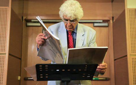 چکناواریان خودم را زندانی کردهام و شب و روز آهنگ میسازم چکناواریان, ارکستر سمفونیک تهران