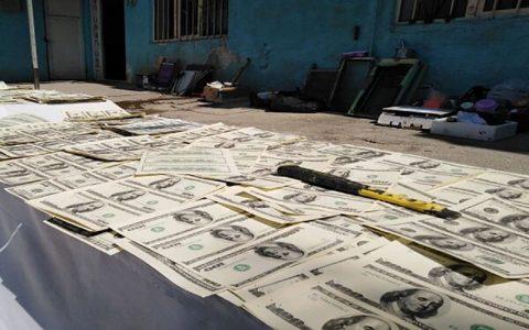 کشف ۳ میلیاردی دلارهای جعلی در تهران