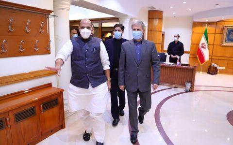 گزارش توییتری وزیر دفاع هند از دیدارش با وزیر دفاع کشورمان