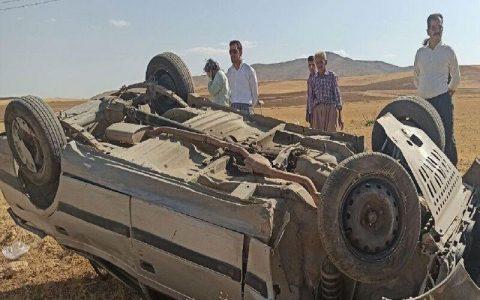 ۲ سانحه رانندگی در بوکان، ۲ کشته و ۴ نفر زخمی برجا گذاشت بوکان, سانحه رانندگی