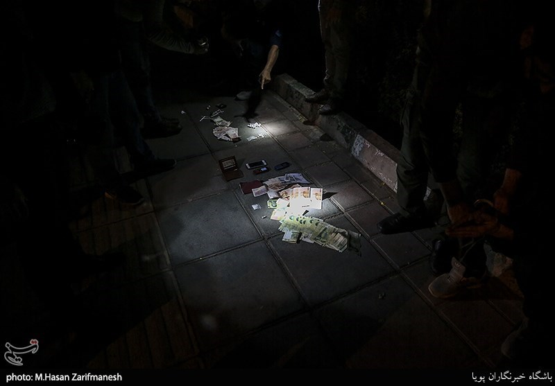 عملیات بامدادی پلیس تهران برای بازداشت فروشندگان مواد مخدر / تصاویر