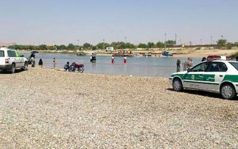 2 جوان اهوازی در رودخانه کارون شوشتر غرق شدند منطقه شنا ممنوع, غرق شدگی, رودخانه کارون شوشتر