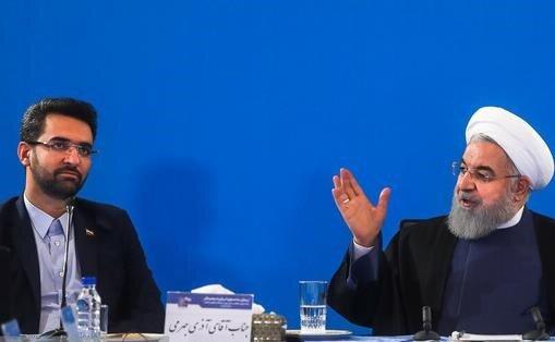 5447024 محمدجواد آذریجهرمی, امانوئل مکرون ایران