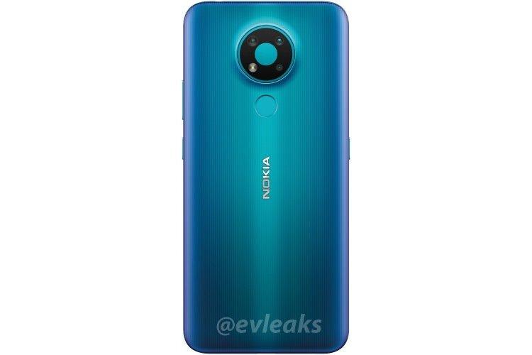 nokia 3.4 render blue color نوکیا