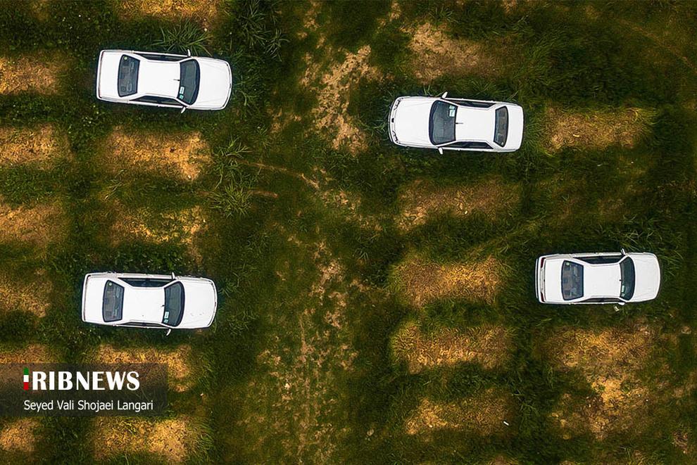 تصاویر جدید از دپوی خودروهای ایران خودرو در بابل