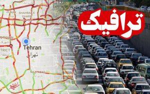 آخرین وضعیت ترافیکی جادههای کشور در ۲۸ مهرماه وضعیت ترافیکی جادههای کشور