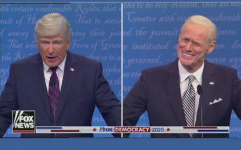 آلک بالدوین و جیم کری در نقش ترامپ و بایدن ظاهر شدند مناظره رقبای انتخاباتی آمریکا, جیم کری, آلک بالدوین
