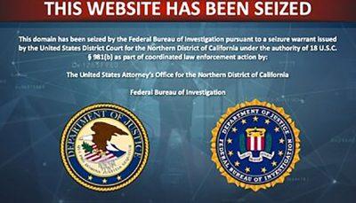 آمریکا دامنه ۹۲ وبسایت مرتبط با سپاه پاسداران مسدود شد دامنه اینترنتی, وزارت دادگستری آمریکا, سپاه پاسداران