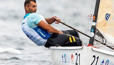 در مسابقات بین المللی بادبانی فرانسه سوم شد احمدی در مسابقات بین المللی بادبانی فرانسه سوم شد