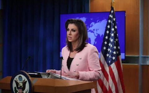 اظهارات مداخلهجویانه سخنگوی وزارت خارجه آمریکا درباره ایران ایران, مورگان اورتگاس