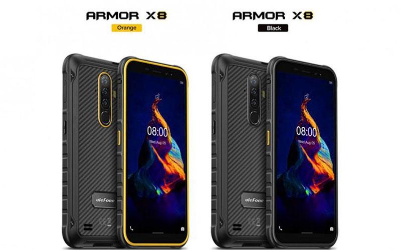 اولفون گوشی سرسخت و ارزان قیمت Ulefone Armor X8 را معرفی کرد اولفون, Ulefone Armor X8