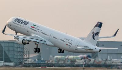 اولین پرواز اروپایی کشور ایران ایربه المان را پس از 6 ماه ایران ایر