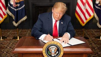 تحریم ایران آمریکا و برجام, تحریم ایران, ترامپ