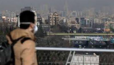 تداوم آلودگی هوای تهران تا پنجشنبه آلودگی هوای تهران