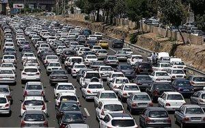ترافیک سنگین در آزادراه قزوین کرج تهران پلیس راهور ناجا, کنترل ترافیک