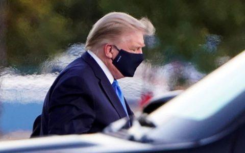 ترامپ مشکل تنفسی پیدا کرده است ویروس کرونا, دونالد ترامپ