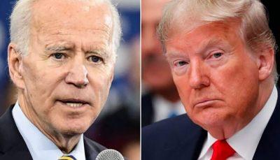 ترامپ و بایدن به صورت جداگانه صحبت کردند بایدن, انتخابات ریاست جمهوری ۲۰۲۰, ترامپ
