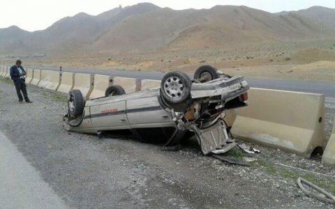 تصادف در البرز ۲ کشته و سه مصدوم داشت