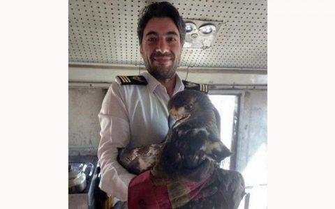 عقاب با قطار تهران شیراز