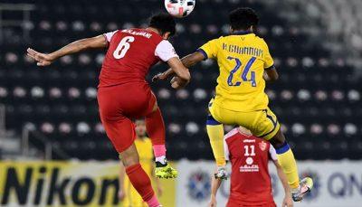 تصمیم AFC در مورد بازی پرسپولیس النصر
