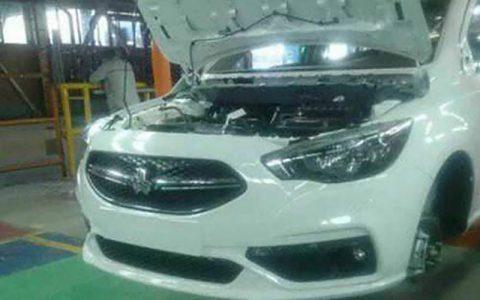 تولید خودرو شاهین در شرکت سایپا آغاز شد