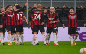 تیم فوتبال میلان رکورد سال ۱۹۳۰ خود را تکرار کرد لیگ اروپا, تیم فوتبال میلان