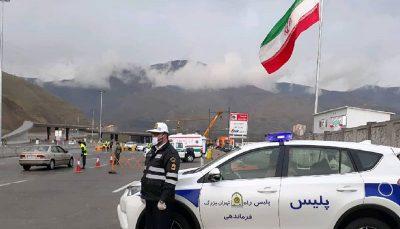 جلوگیری از ورود خودروهای پلاک شهرستان به تهران محدودیت کرونا, تهران, پلیس راه