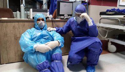 خستگی کادر درمان بیماری کرونا, دکتر مسعود مردانی