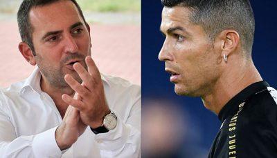 رد و بدل شدن جملات تند میان رونالدو و وزیر ورزش ایتالیا وزیر ورزش ایتالیا, کریستیانو رونالدو