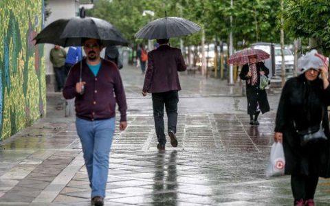 رگبار و رعد و برق در راه تهران است سامانه بارشی, هواشناسی