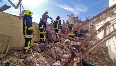 ریزش یک ساختمان در مشهد هشت مجروح جای گذاشت مشهد, ریزش ساختمان