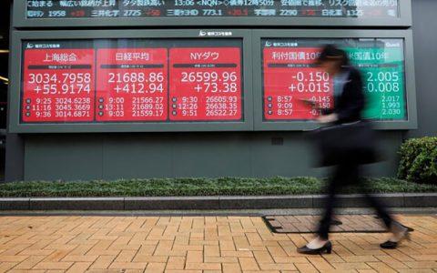 شاخصهای سهام آسیایی با خبر بهبود شرایط ترامپ جهش کرد سهام آسیا اقیانوسیه, کرونای ترامپ