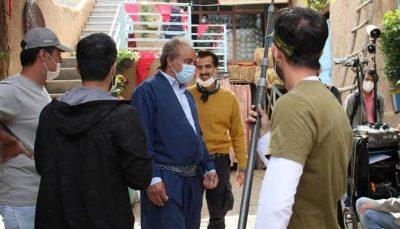 """سریال نون.خ ۳ آغاز شد اکبر عبدی و علی صادقی در جمع بازیگران فیلمبرداری سریال """"نون.خ ۳"""" آغاز شد/ اکبر عبدی و علی صادقی در جمع بازیگران"""