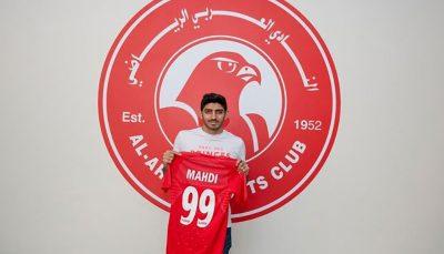 قرارداد ترابی با العربی یک ساله است ترابی, باشگاه العربی