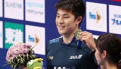 محرومیت قهرمان ژاپن با ۴ طلای جهانی به دلیل خیانت به همسر فدراسیون شنای ژاپن, المپیک توکیو