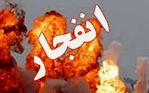 مصدومیت دو تن در انفجار دیگ قیر