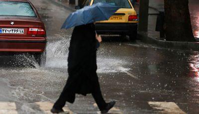 هشدار هواشناسی نسبت به بارش باران در بیشتر مناطق کشور بارش باران, سازمان هواشناسی