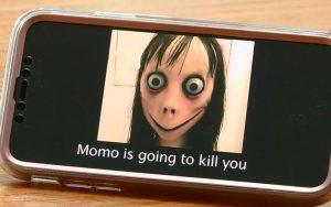 هنگام احساس خطر از مومو با ۱۲۳ تماس بگیرید اورژانس ۱۲۳, مومو