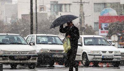 هواشناسی ایران بارش باران و برف در ۱۶ استان بارندگی, هواشناسی ایران