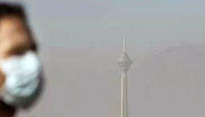 هوای پایتخت ناسالم است 1 کیفیت هوای پایتخت