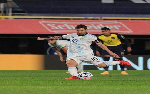 پیروزی آرژانتین و اروگوئه با درخشش مسی و سوارز جام جهانی 2022 قطر, لیونل مسی