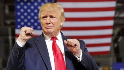گاف ترامپ در سخنرانی انتخاباتی در میشیگان