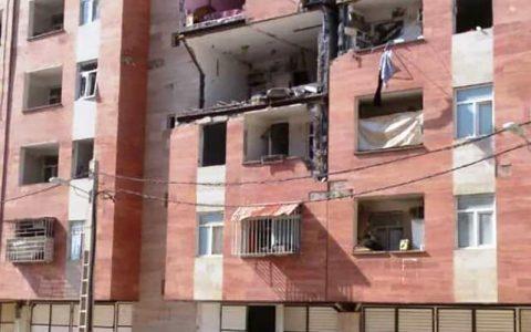 ۵ نفر در انفجار گاز ماهشهر مصدوم شدند حادثه انفجار گاز, ماهشهر