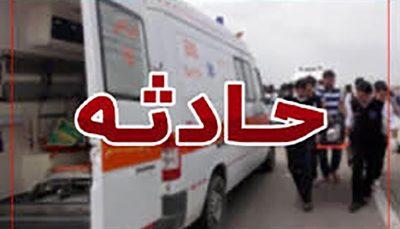 ۶ کشته و ۱۰ مصدوم در پی واژگونی اتوبوس محور کاشان- قم, واژگونی اتوبوس