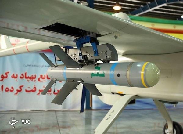 12694197 720 پهپادهای ایرانی, بمبهای هوشمند