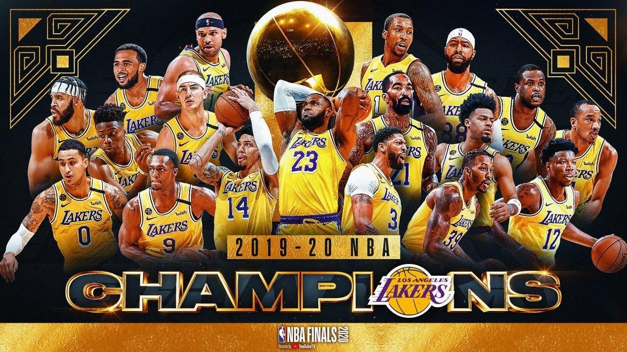 لیکرز قهرمان NBA شد