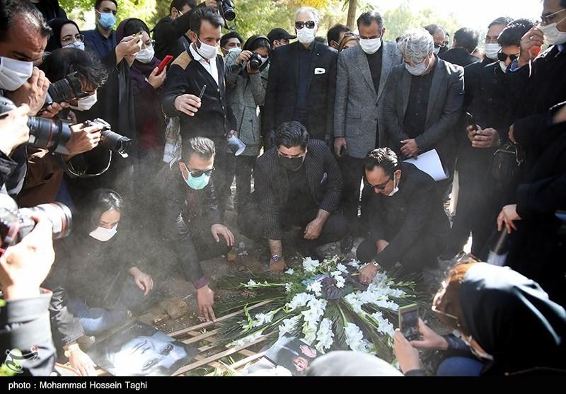 1399071914115058721407164 مراسم تدفین, محمدرضا شجریان