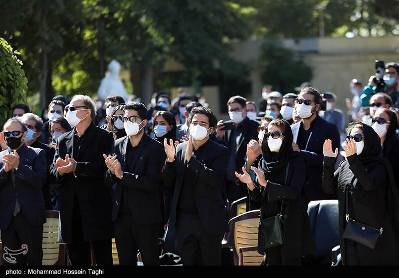 1399071914115094721407164 مراسم تدفین, محمدرضا شجریان
