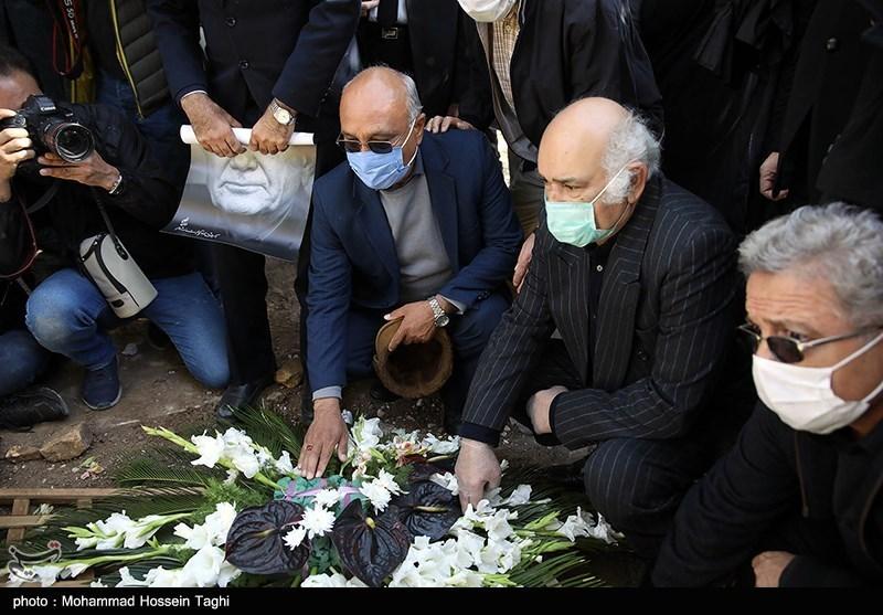 1399071914115165021407164 مراسم تدفین, محمدرضا شجریان